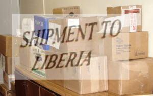 Shipment to Liberia